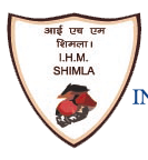 Logo of Institute of Hotel Management Catering & Nutritihmion