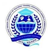 Logo of The West Bengal University Of Teachers' Training Education Planning & Administration