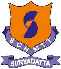 Logo of Suryadatta College of Hospitality Management & Travel Tourism