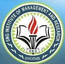 Logo of SNG Institute of Management & Research